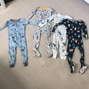 Toddler boy pajama bundle